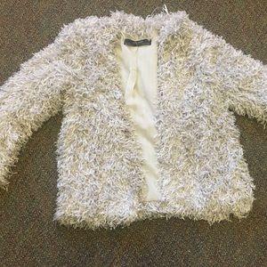Silver Fringe Jacket
